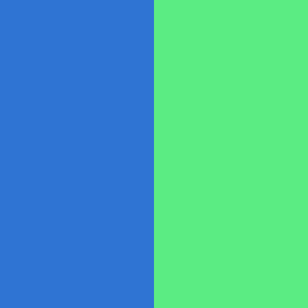 Neon Blue / Neon Green
