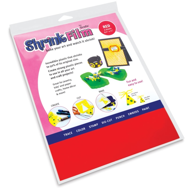 Colored Shrink Film, Red