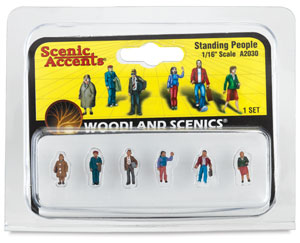 Scale People Standing, 1/16""
