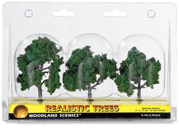 """Ready Made Trees, Medium Green, 3"""" – 4"""""""