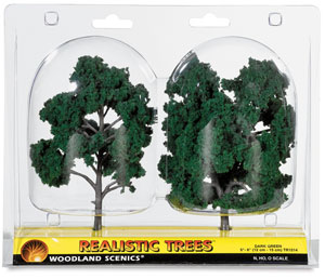 "Ready Made Trees, Dark Green, 5"" – 6"""