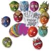 Roylco Mardi Gras Masks Class Pack
