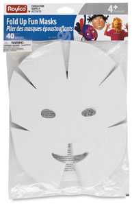 Roylco Fold Up Fun Masks Class Pack