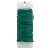 Floral Paddle Wire, Green
