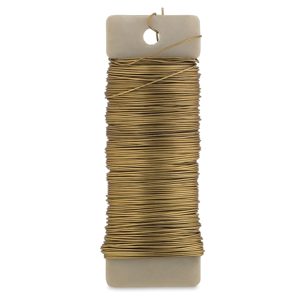 Floral Paddle Wire, Gold