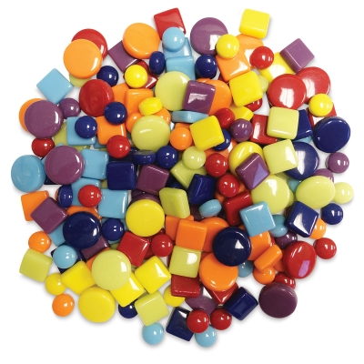 Mosaic Dots, Spots, and Squares