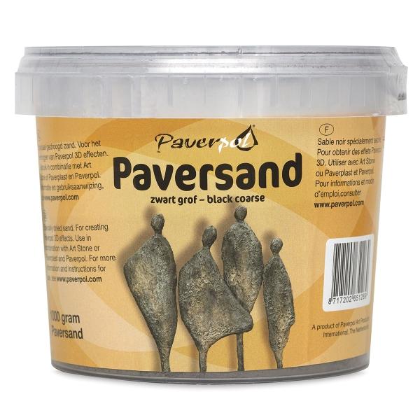 Paverpol Paversand, Black/Coarse