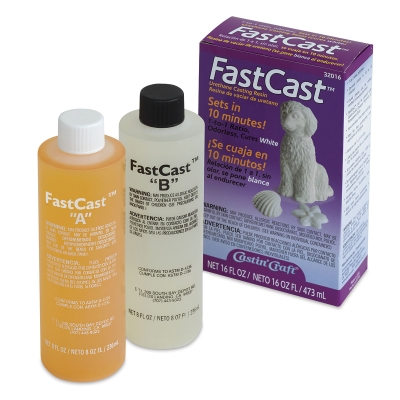 FastCast Urethane Casting Resin, 16 oz
