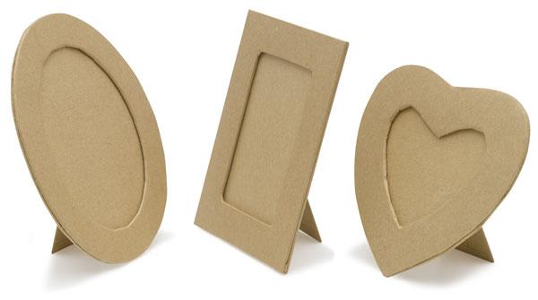 Papier Mâch&eacute: Frames
