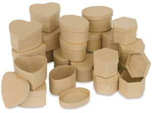 Papier Mâch&eacute: Boxes