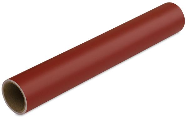 Matte Vinyl, Dark Red