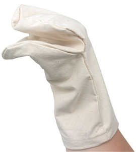 Canvas Hand Puppets, Mouth Only, Pkg of 6