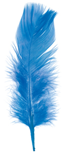 Plumage Feathers, Royal Blue, 0.5 oz Pkg