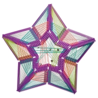 3-D Stellar Star String Art(Finished Example)