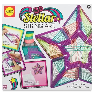 3-D Stellar Star String Art