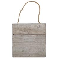 "Wood Plank Surface, Horizontal, 6"" × 6"""