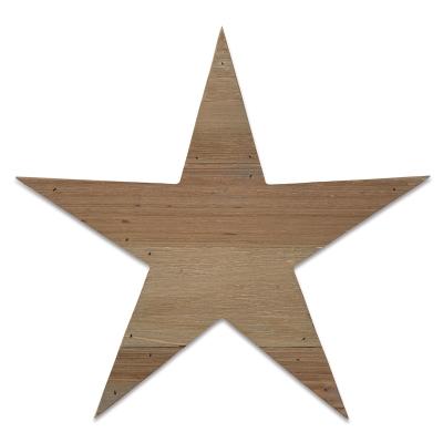 Wood Plank Star
