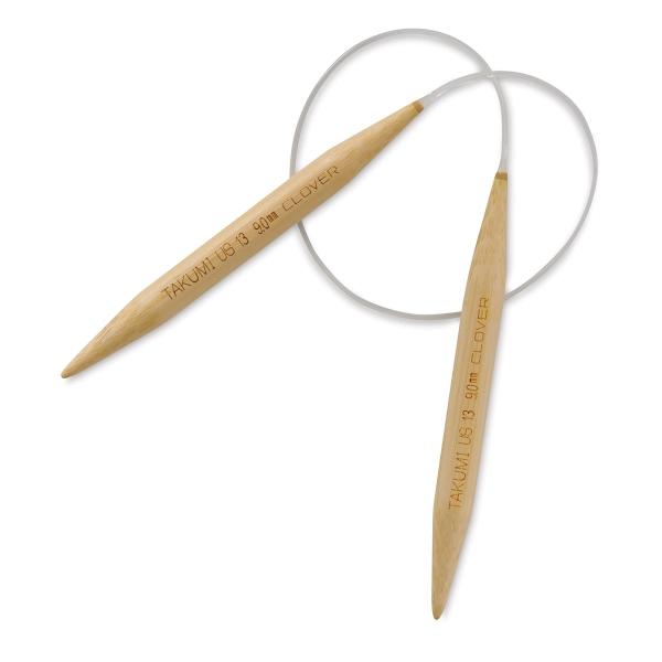 Takumi Circular Knitting Needles, Size 13