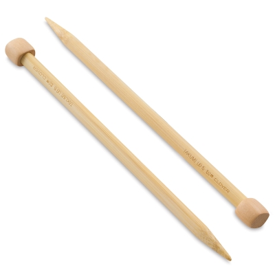 Takumi Bamboo Straight Knitting Needles, Size 15