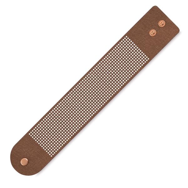 Vegan Leather Bracelet, Copper