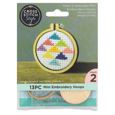 Mini Embroidery Hoops Pack, Pkg of 2