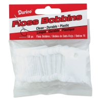 Plastic Floss Bobbins, Pkg of 50