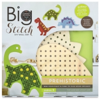 Big Stitch DIY Wall Art, Prehistoric