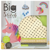 Big Stitch DIY Wall Art, Unicorn