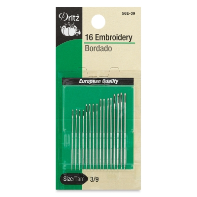 Embroidery Needles, Pkg of 16