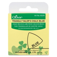 Triangle Tailor's Chalk, Blue