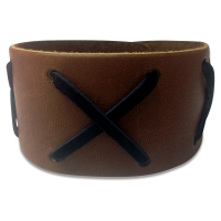 Leather Wristband (Example Artwork)