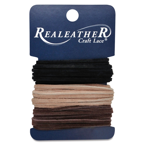 Suede Lace Variety Pack<br>(Black/Cafe/Sand)