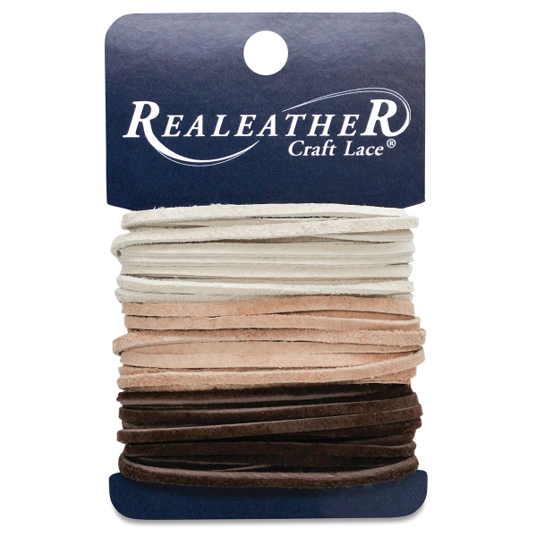 Suede Lace Variety Pack<br>(Ivory/Cafe/Sand)