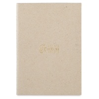 Artists Serving Artists Notebook, Pkg of 2Kraft Cover, Blank Pages, Thread-Bound
