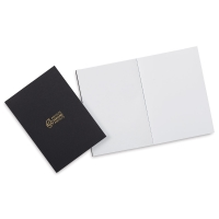 Artists Serving Artists Notebook, Pkg of 2Black Cover, Blank Pages, Thread-Bound