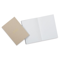 Artists Serving Artists Notebook, Pkg of 2Kraft Cover, Blank, Thread-Bound