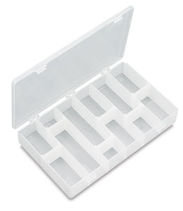 "Small Box (10-4/5"" L × 7"" W × 1-4/5"" H)"