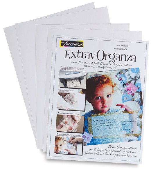 Jacquard ExtravOrganza Digital Textile