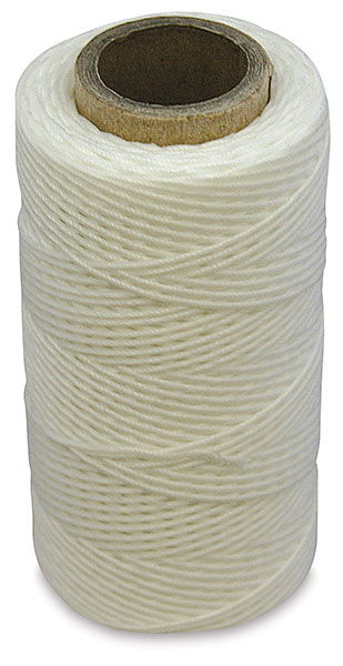 White Waxed Thread