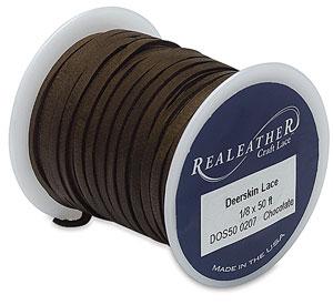 Chocolate Deerskin Lace