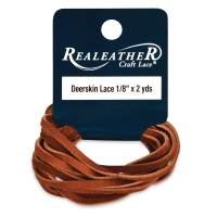 Deerskin Lace, Saddle Tan
