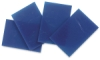 Blue Opalescent Glass, Pkg of 4