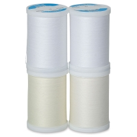 Dual Duty XP Whites Multipack, 4 Spools