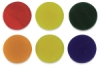 Color Variety Circles, Set of 6