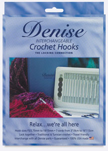 Interchangeable Crochet Hooks Kit