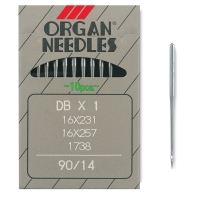 Size 14 Needles, Pkg of 10
