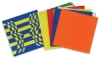 Op Art Weaving Mats, Pkg of 24 Sheets