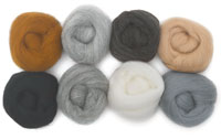 Wistyria Editions 100% Wool Roving