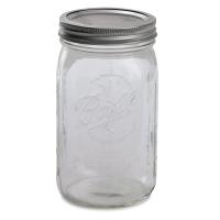"Wide Mouth Jar, 7"""