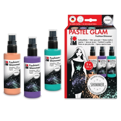 Fashion Shimmer Spray, Pastel Set